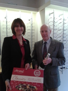 Park Lane opticians competition winner