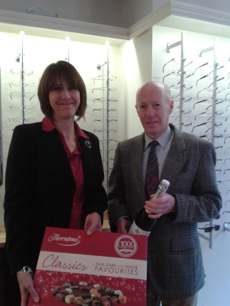 Park Lane opticians competition winner