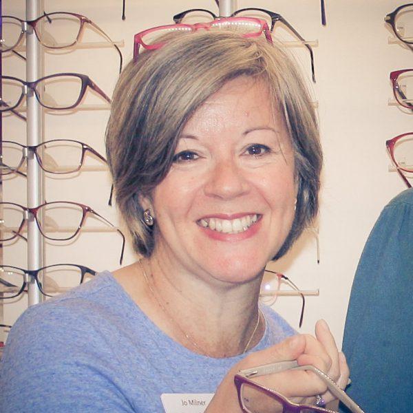 Jo Milner, Clinic Manager • Park Lane Opticians