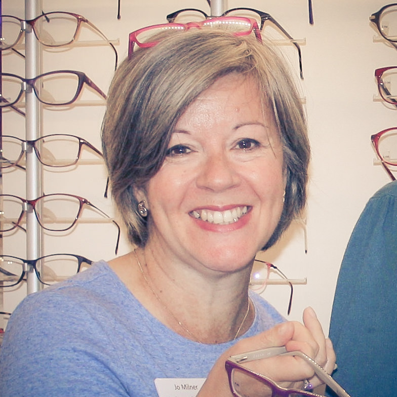 Jo Milner, Clinic Manager • Park Lane Opticians